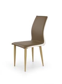 Ēdamistabas krēsls Halmar K-264 Brown/White