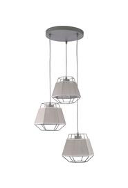Lampa Griestu CRISTAL 1803 3X60W E27 (TK LIGHTING)