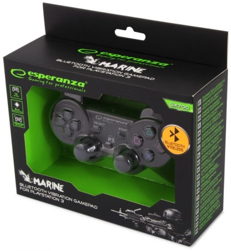 Spēļu kontrolieris Esperanza Marine Bluetooth Gamepad Black