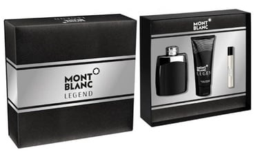 Mont Blanc Legend 100ml EDT + 100ml Aftershave Balm + 7.5ml EDT
