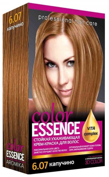 Aromat Cream Hair Dye Aromika Color Essence 6.07