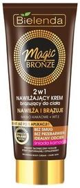Bielenda Magic Bronze Moisturizing Bronzing Body Cream 2 In 1 Dark Skin 200ml