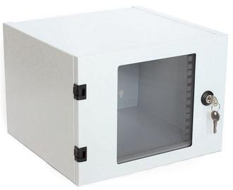Assmann Cabinet 10'' 4U 300mm Glass Gray