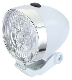 Good Bike Retro Style 3 LED 94315 White