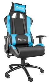 Spēļu krēsls Genesis Nitro 550, zila/melna