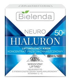 Bielenda Neuro Hyaluron Lifting Anti-Wrinkle Cream-Concentrate 50+ Day/Night 50ml