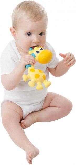 Zobu riņķis Playgro Squeak And Soothe Natural 0186970