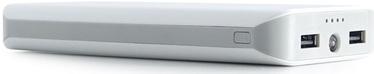 Зарядное устройство - аккумулятор Sponge, 20000 мАч, белый