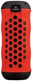 Bezvadu skaļrunis Swissten X-Boom, sarkana, 10 W