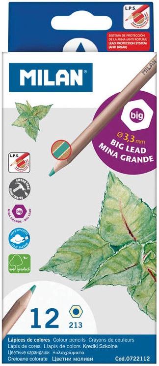 Milan Big Lead Colour Pencils 0722112