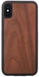 Woodcessories Bumper Back Case For Apple iPhone XS Max Walnut/Black