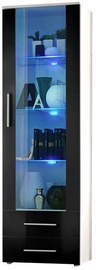 ASM Neo I Display Cabinet White/Black Gloss