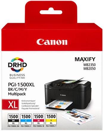 Canon PGI-1500XL Multipack C/M/Y/BK