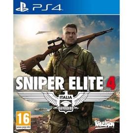 PlayStation 4 (PS4) spēle Sniper Elite 4: Italia PS4
