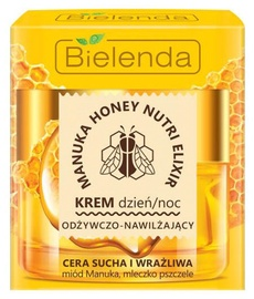 Sejas krēms Bielenda Manuka Honey Nourishing & Moisturizing Face Cream, 50 ml