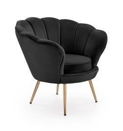 Ēdamistabas krēsls Halmar Amarino Black/Gold, 1 gab.