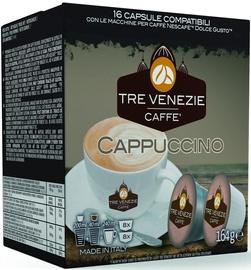 Kafijas kapsulas Tre Venezie Cappuccino, 16 spilventiņi