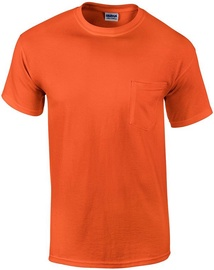 Gildan Cotton T-Shirt Orange XL