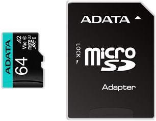 ADATA Premier Pro 64GB microSDXC UHS-I Class 10 w/Adapter