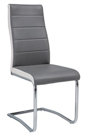 Ēdamistabas krēsls Signal Meble H353, pelēka
