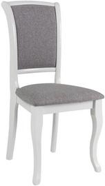 Ēdamistabas krēsls Signal Meble White/Gray
