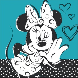 Glezna Minnie The Mice, 230 mm x 230 mm