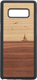 Man&Wood Mare Back Case For Samsung Galaxy Note 8 Brown/Black