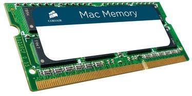 Operatīvā atmiņa (RAM) Corsair Mac Memory CMSA8GX3M1A1333C9 DDR3 (SO-DIMM) 8 GB CL9 1333 MHz
