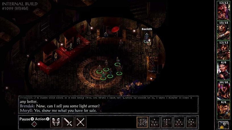 Baldur's Gate and Baldur's Gate II Enhanced Editions PS4