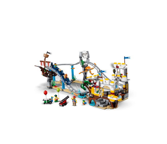 Конструктор LEGO Creator Pirate Roller Coaster 31084