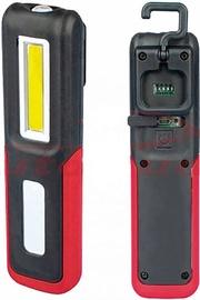 AutoDuals Flashlight COB LED 3W Black