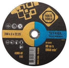 Пильный диск CUTTING BLADE 230X3.0X22.23 MMFORTE TOO