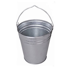 SN Galvanized Metal Bucket 12l