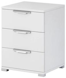 Ночной столик WIPMEB Naka 3S, белый, 46x42x61 см