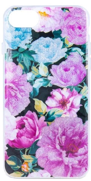 Mocco Spring Back Case For Apple iPhone 6/6s Pink Peonies