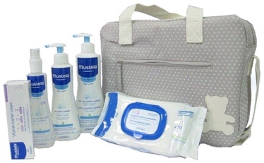 Mustela First Products Bag 6pcs Set 1050ml Grey