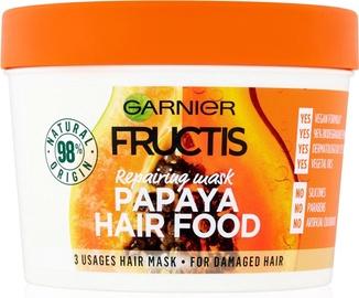 Matu maska Garnier Fructis Nourishing Papaya Hair Food, 390 ml