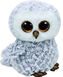 Mīkstā rotaļlieta TY Beanie Boos Owl Owlette White, 24 cm