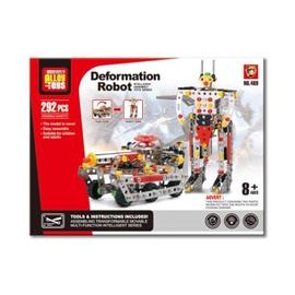 Assembly Alloy Toys Deformation Robot 292pcs 525124085/469