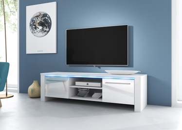 ТВ стол Vivaldi Meble Manhattan, белый, 1400x422x400 мм