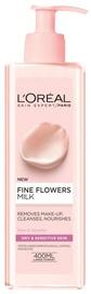 Молочко для лица L´Oreal Paris Fine Flowers Cleansing Milk For Dry Or Sensitive Skin, 400 мл