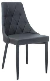 Ēdamistabas krēsls Signal Meble Trix Dark Grey