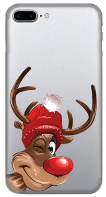 TakeMe Special Design Back Case For Samsung Galaxy J6 Plus J610 Winter Deer