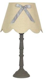 Candellux Vibu 60W E27 Table Lamp Linen