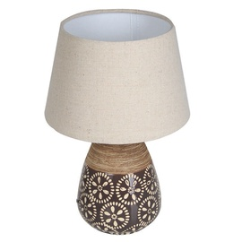 Verners Nida Table Lamp E27 60W Wood/Brown