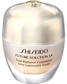 Tonizējošais krēms Shiseido Future Solution Lx Total Radiance Foundation Fluid 03 Golden, 30 ml