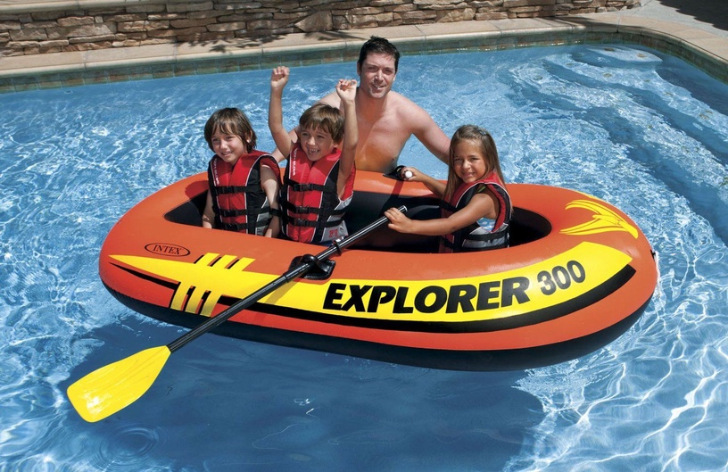 Intex Explorer Pro 300 Set Orange