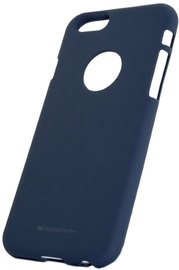 Mercury Soft Surface Back Case For Huawei P10 Lite Midnight Blue