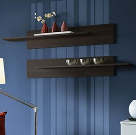 ASM Mix Hanging Shelf 2pcs Wenge