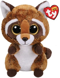 Mīkstā rotaļlieta TY Raccoon, 24 cm
